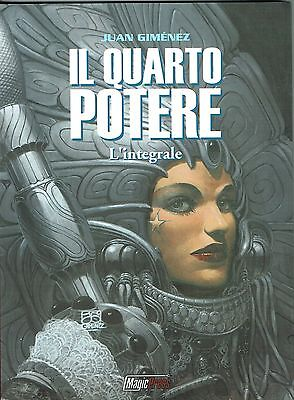 il Quarto Potere di Gimenez INTEGRALE ed.Magic Press NUOVO sconto 50%