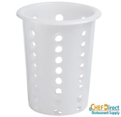 "New 4-1/2"" Dia Plastic Perforated Flatware Cylinder FREE SHIPPING!!!"