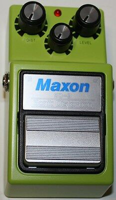 MAXON SD9 Sonic Distortion Effects Pedal, Brand New, Free Shipping