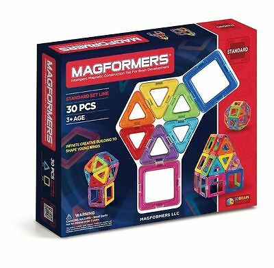 Magformers Standard Set 30 Pieces Innovative Smart Kids Toy Education Magnets