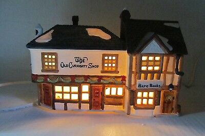 The Old Curiosity Shop no 5905-6 Dickens' Village Heritage Series Dept. 56 LQQK