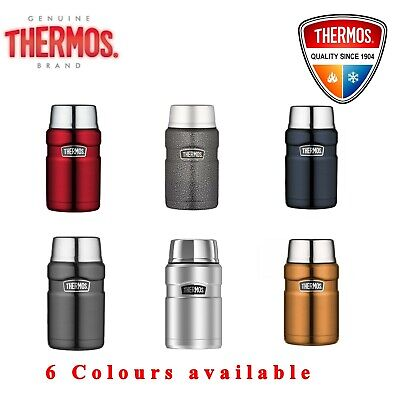 Thermos VACUUM Insulated Food Jar Thermo Flask Container 710ml