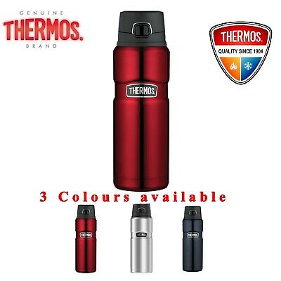 Thermos STAINLESS VACUUM Insulated Bottle Drink Thermo Flask 710ml Sweat Proof