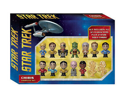 Classic Star Trek Chibi Figures Collectors Set of 14, ND 2016 MINT IN BOX SEALED