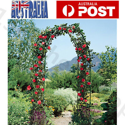 Garden Wedding Arch Garden Climbing Frame Arches Iron Outdoor Arbour Gate Green