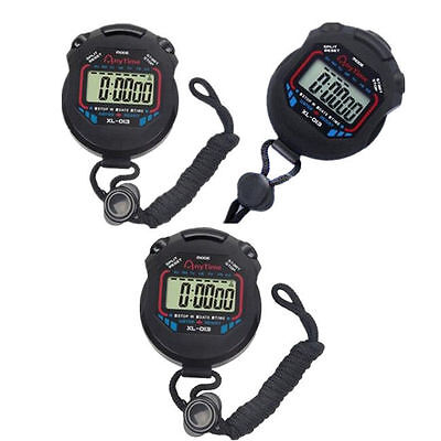 New Sports 2016 Timer Counter Professional Chronograph Stopwatch