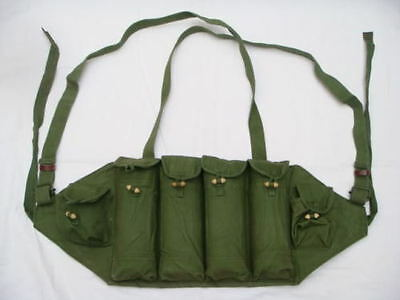 Vietnam War Chinese Army Military 81 Ak Type Chest Rig Ammo Pouch Bag