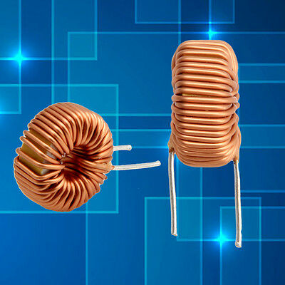 5/10Pcs Toroid Core Inductors Wire Wind Wound DIY mah--100uH 6A Coil