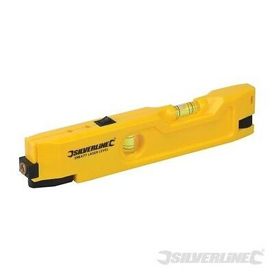 Silverline Mini-Laserwasserwaage 210 mm