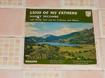 Harry Secombe - Land of my Fathers + 3 GOOD (VINYL 7' SGLE)