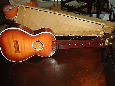 Vintage Harmony Ukelele -Lightly Used  In Orig. Box With Instructions