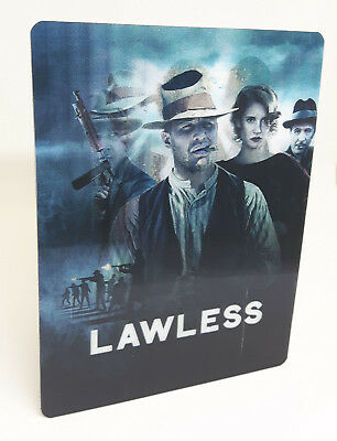 Lawless Lenticular Magnet cover Flip effect for Steelbook