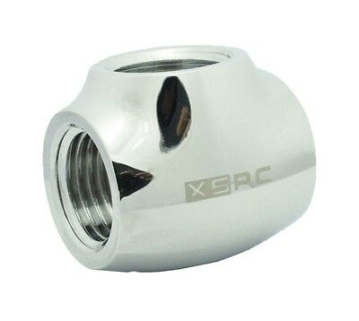 "XSPC G1/4"" T Fitting Chrome"