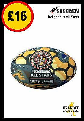 Steeden Indigenous All Stars NRL Team Supporter Ball Size 5 NEW