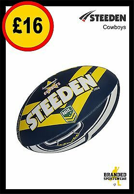 Steeden Cowboys NRL Team Supporter Ball Size 5 NEW