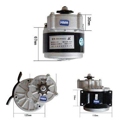 HMParts E- Scooter / RC electric Motor 24 V 250 W - MY 1016Z2