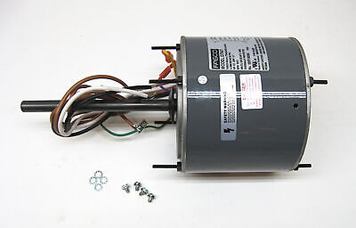 Ac air conditioner condenser fan motor 1 6 hp 1075 rpm 230 for Air conditioner compressor motor