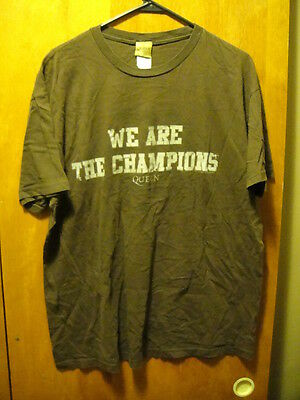 QUEEN ~ XL ~ OFFICIAL ~ 2007 We Are the Champions ~ T Shirt