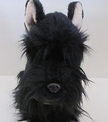 Scottish Terrier Plush Dog Yomiko Classics Black Scottie Russ Berrie Stuffed