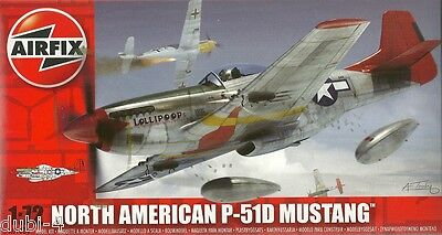Airfix 01004 - - North American P-51D Mustang - P 51 D - 1944 - - 1:72