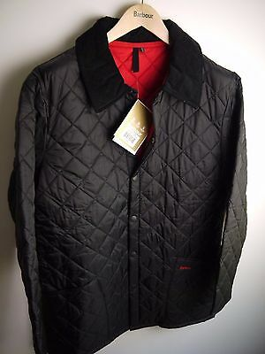 Barbour Men's Liddesdale Quilted Jacket, New With Tags, Black, XX Small
