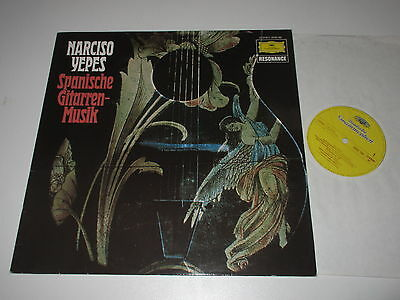 LP/NARISCO YEPES/SPANISCHE GITARRENMUSIK/DG 2535182 Resonance