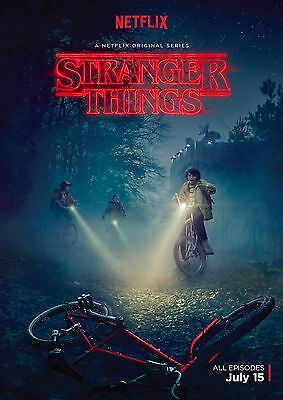 Stranger Things TV Show Wall Art Large Poster Print A0 A1 A2 A3 A4