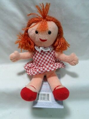 """CVS 6"""" Misfit Doll Plush Rudolph The Red Nosed Reindeer"""