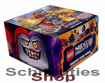 LEGO NEXO KNIGHTS - Trading Cards Game Display a 50 Booster