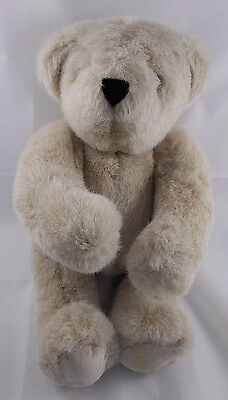 """Vermont Teddy Bear Plush Friend For Life 14"""" Jointed 1984"""