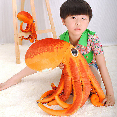 Fashion Paul the Octopus Plush Stuffed Animal Doll Toy Novel Cushion Gift  50cm
