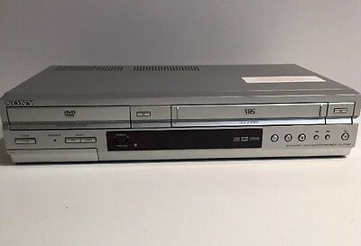 Sony SLV-D350P DVD Video Cassette Recorder Hi-Fi VHS VCR Combo Player