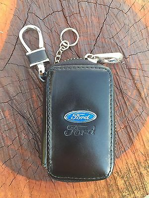 Ford Auto Car  Key Chain Remote Holder Case Bag With Clip Wallet Pouch Rr27#