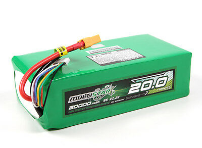 RC Multistar High Capacity 6S 20000mAh Multi-Rotor Lipo Pack