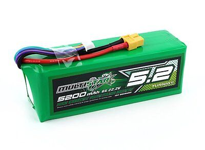 RC Multistar High Capacity 6S 5200mAh Multi-Rotor Lipo Pack