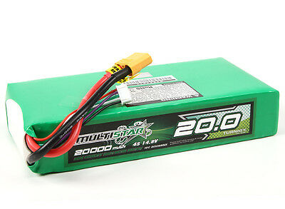 RC Multistar High Capacity 4S 20000mAh Multi-Rotor Lipo Pack