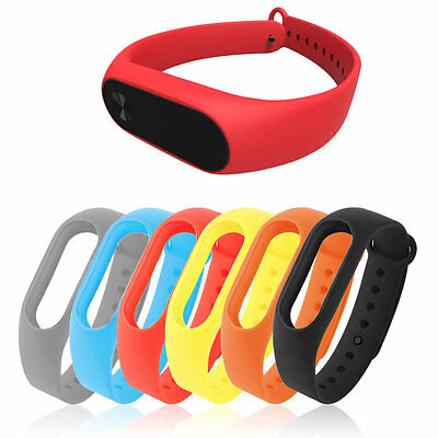 New Replacement Wrist Strap Band TPU Wearable for Xiaomi for Miband Bracelet AU