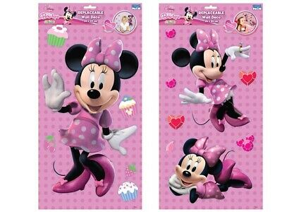 Poster 3D Deco Paredes Hello Minnie 29X54 Cm.