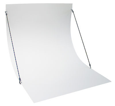 Photo background flute photo table 70 cm wide receiving table white
