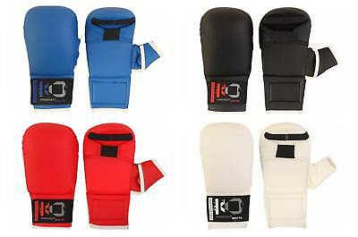 K.O Karate PU Elite Sparring  Mitts With Thumb Protection