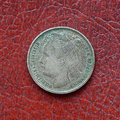 Netherlands 1903 silver 10 cents