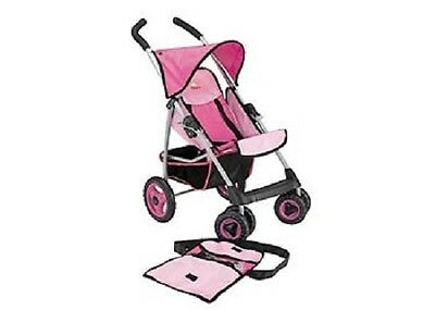 Pretend Play Stroller ideal toy for any child pink and black