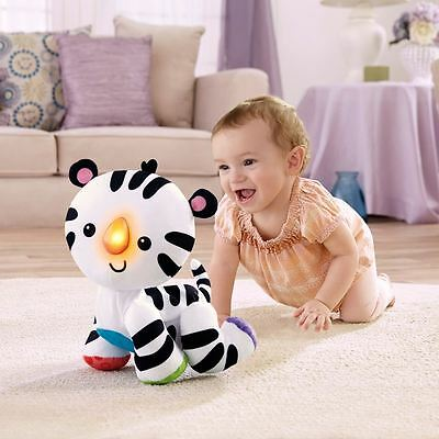 Fisher-Price Touch 'n Crawl Tiger - Crawling -  Musical tunes - Fun Sounds - New