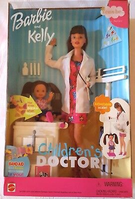 Barbie and Kelly Children's Doctor Brunette I can be a...Career Series