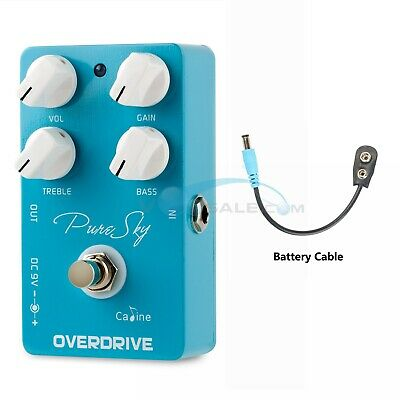 Caline CP-12 Pure Sky Overdrive Guitar Pedals Highly Pure and Clean Overdrive CE