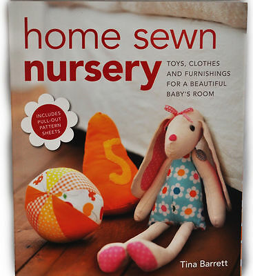 Home Sewn Nursery  Sewing Book