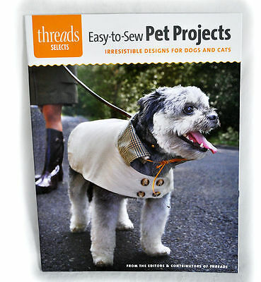 Easy-to-Sew Pet Projects Sewing Book