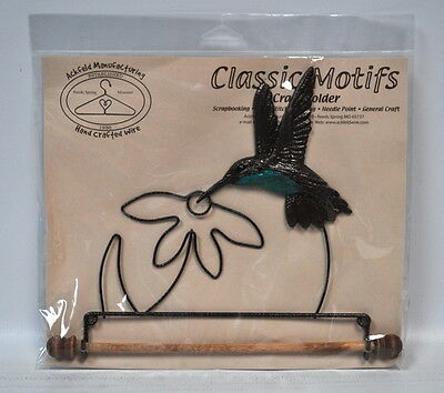 Classic Motifs 7.5 Inch Hummingbird Craft Holder