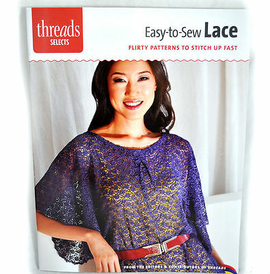 Easy-to-Sew Lace Sewing Book