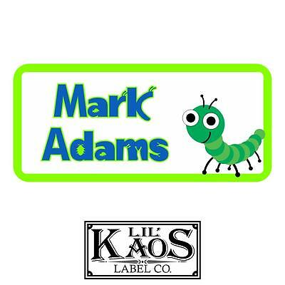 42 Personalized Dinosaur Waterproof Name Labels Stickers Kids School Shoes Hat